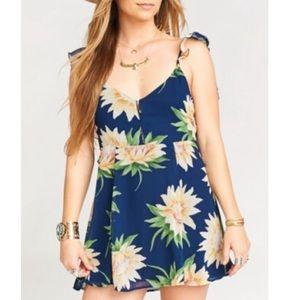 NWT Show Me Your Mumu Delilah Sunflower Mini Dress
